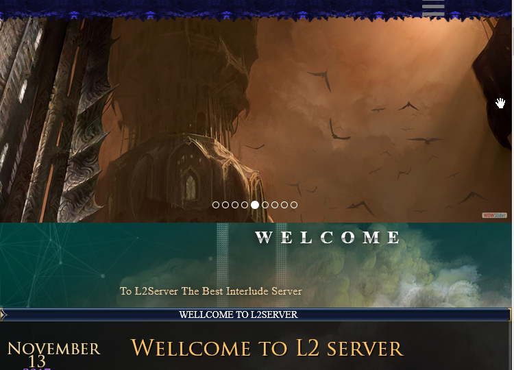 Lineage 2 Website